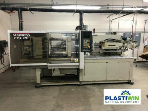 120 Ton Negri Bossi V110-375 Used Injection Molding Machine