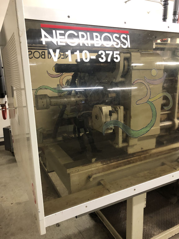 used 120 ton negri bossie v110-375 machine for sale