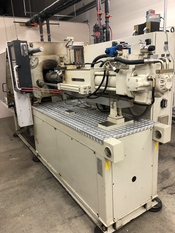 used negri bossie injection molding machine for sale
