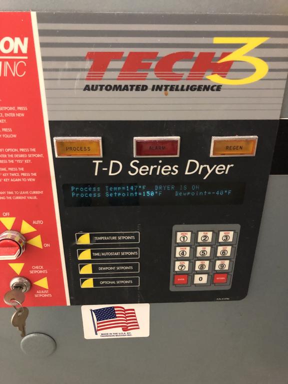 used thoreson mccosh td60 tech3 dryer for sale