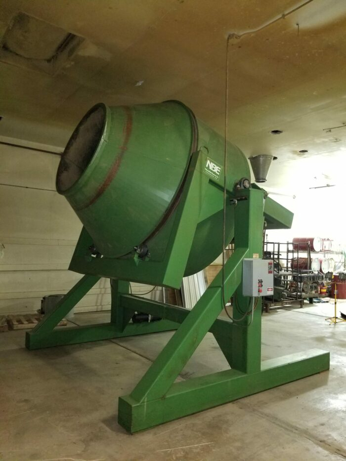 used nbe single cone blender for sale