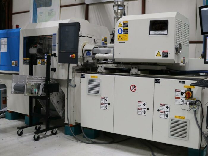 Used 56 Ton Krauss Maffei KM51/55PX Injection Molding Machine 1 56 ton krauss maffei