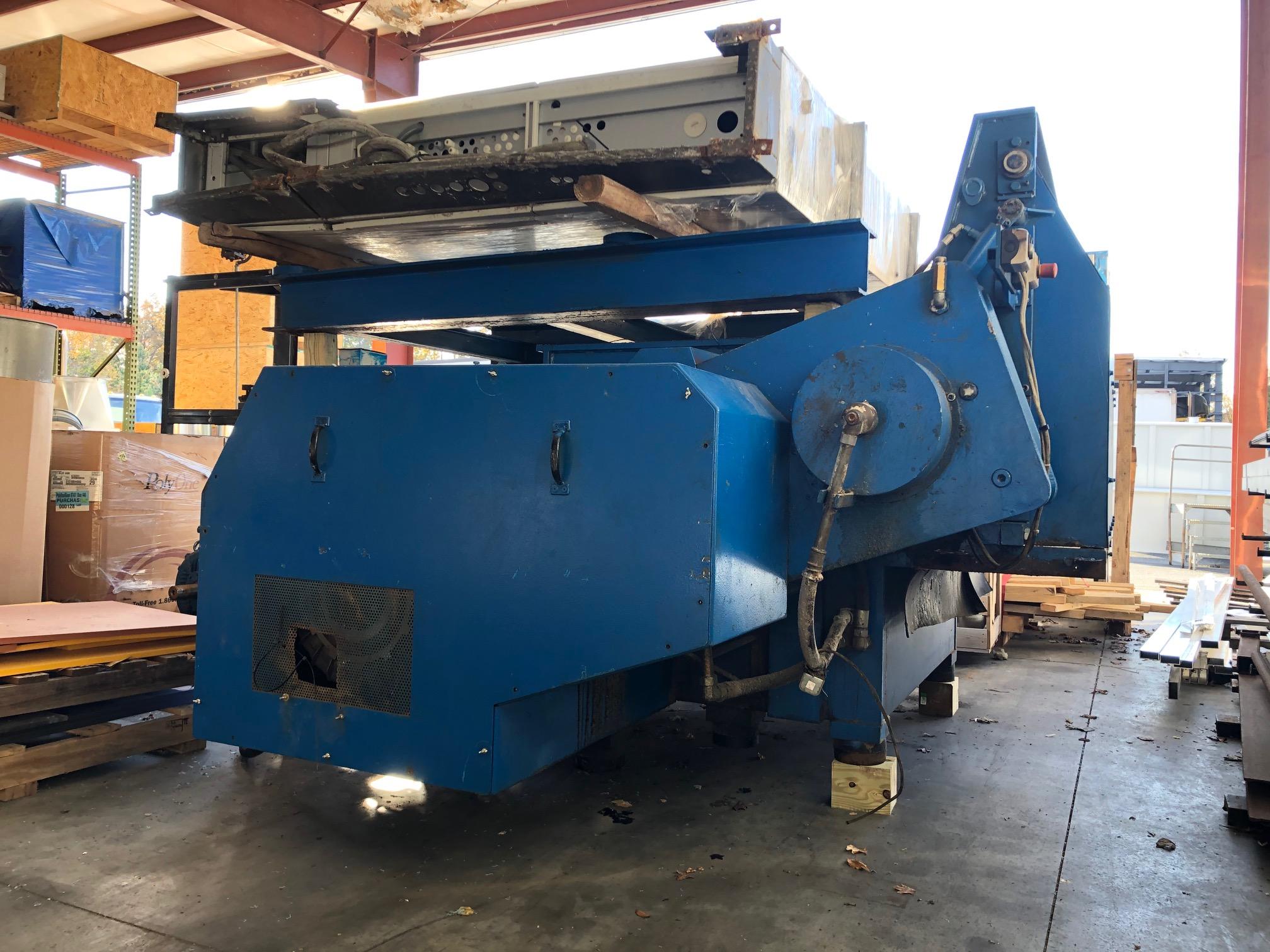 used 150 hp weima wlk15 shredder