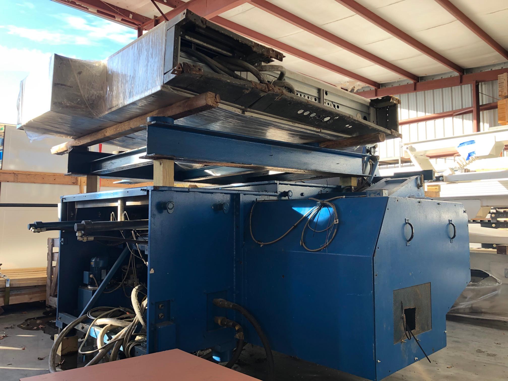 used 150 hp weima wlk15 plastic shredder