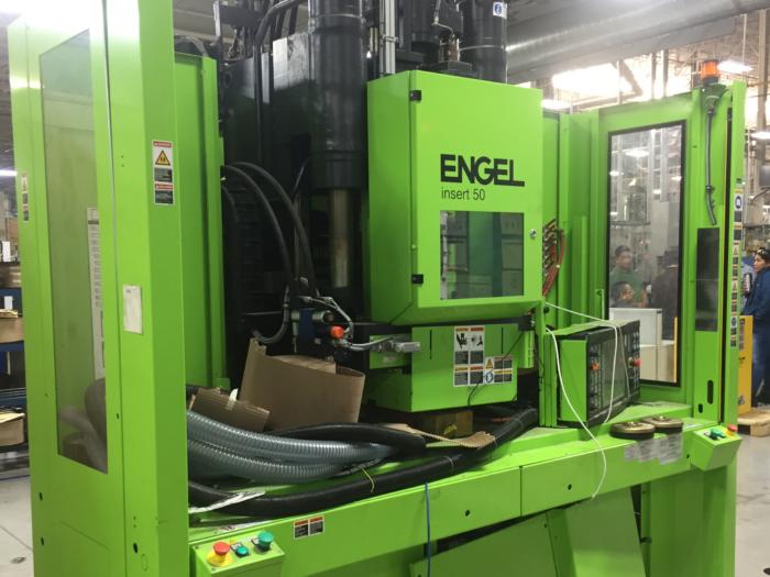 Used 50 Ton Engel Insert50 Vertical Injection Molding Machine 1 50 Ton Engel Insert50