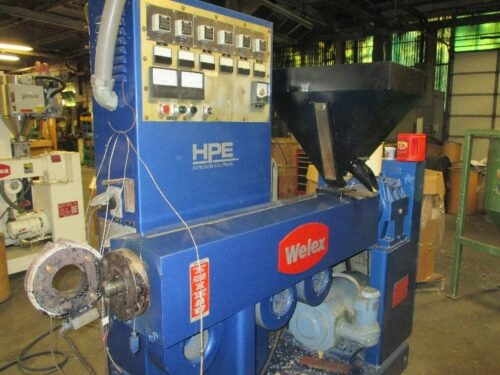 2in welex complete profile extrusion line