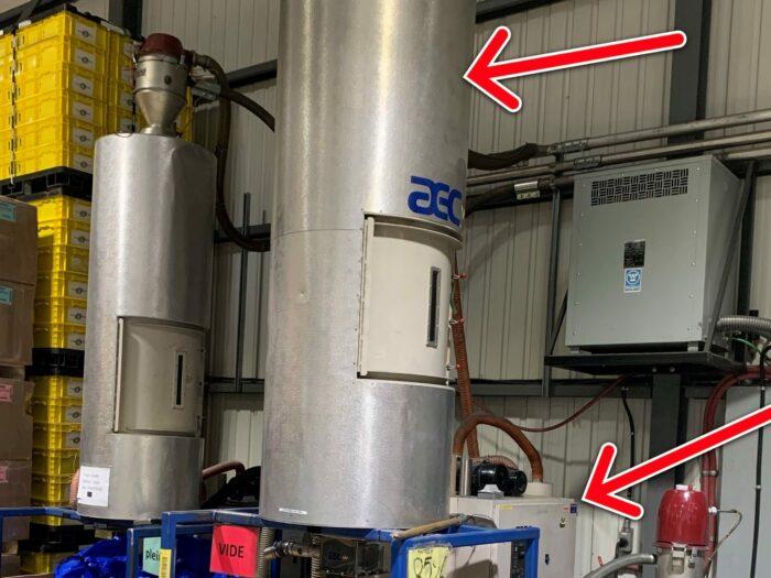 used aec wd 150 dryer
