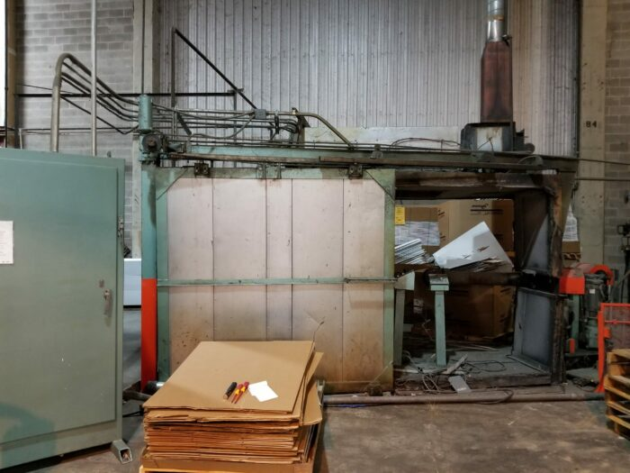 used ferry rs4 rotational molding machine