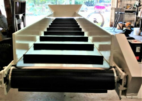 36in x 20ft cleated conveyor