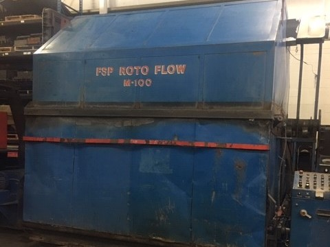 used fsp m-100 p.c. clam shell