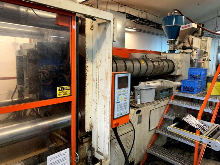 used mir injection molding machine