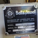 used 15 hp ball and jewell grinder