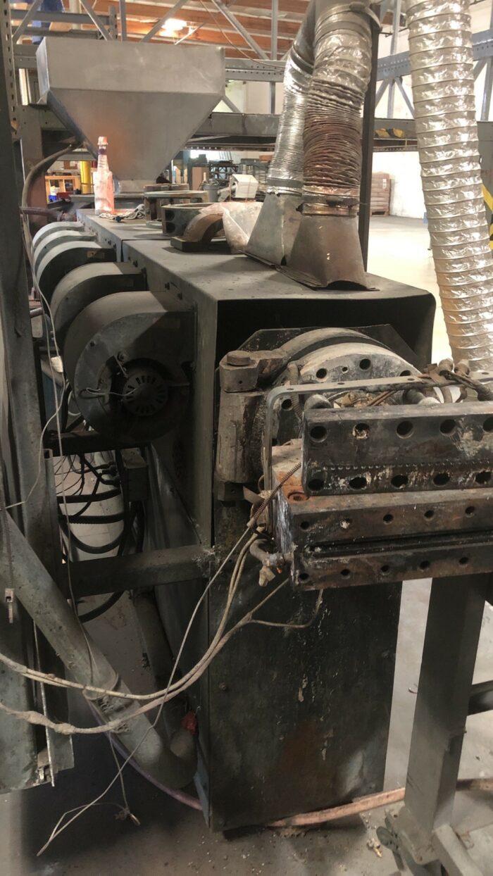 3.5 sterling 100 hp complete pelletizing line