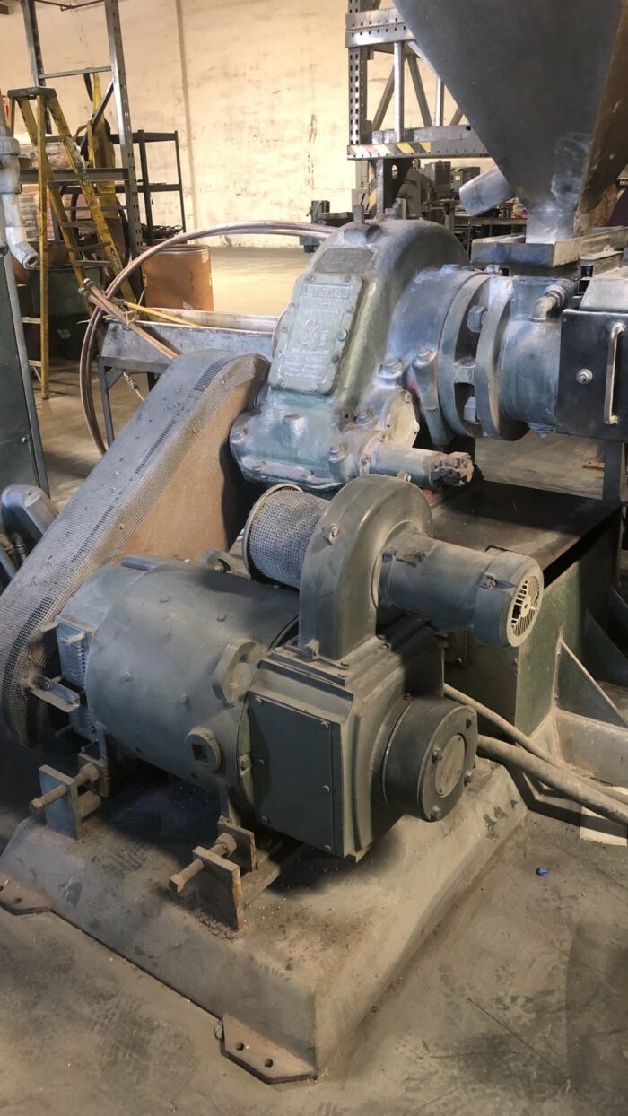 "3.5"" NRM 32:1 L/D 100 HP Complete Pelletizing Line 2 100 HP Complete Pelletizing"