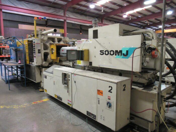 used 500mj mitsubishi injection molding machine