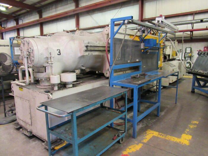 used mitsubishi 500 ton injection molding machine