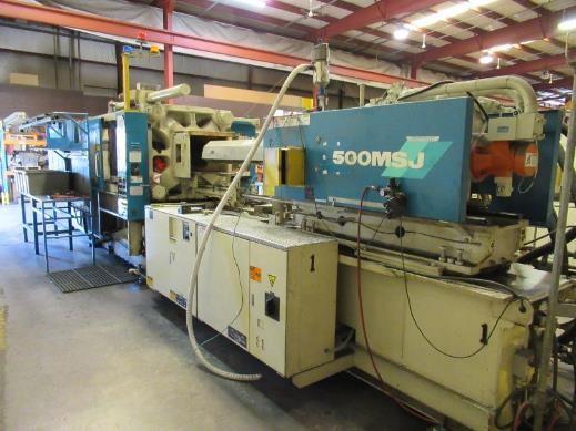 used 500 ton mitsubishi hydraulic injection molding machine