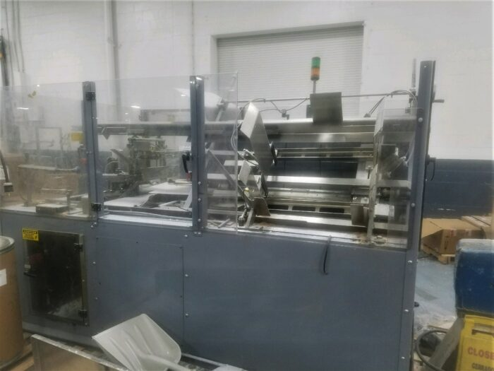barry wehmiller ce 451 high speed case erector with glue system