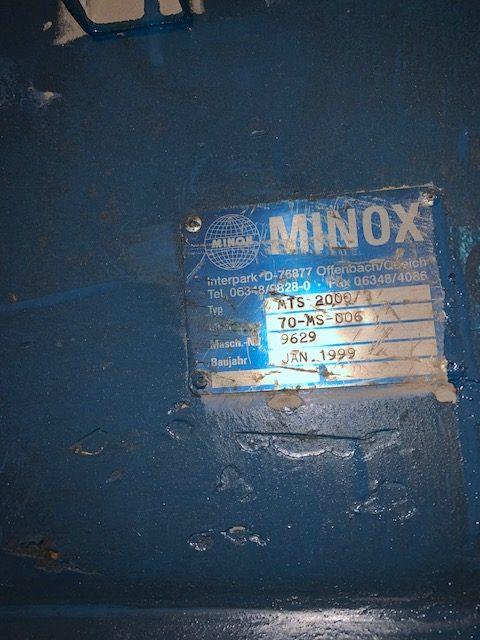 used 72 minox classifier