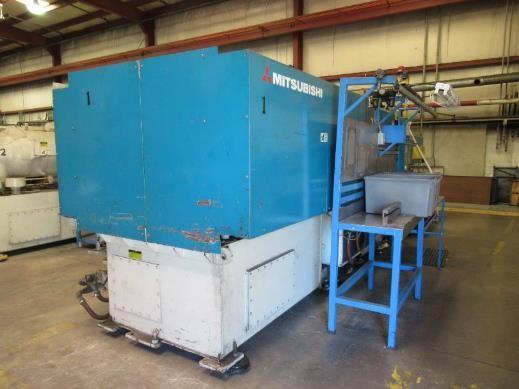 Used 500 Ton Mitsubishi Hydraulic Injection Molding Machine 1 Used 500 Ton Mitsubishi Hydraulic