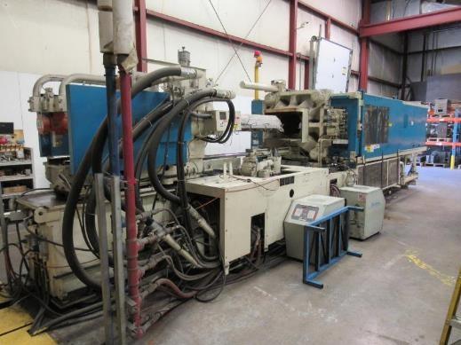 Used 500 Ton Mitsubishi Hydraulic Injection Molding Machine 2 Used 500 Ton Mitsubishi Hydraulic