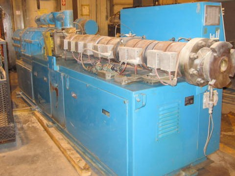 88mm american maplan twin screw extruder