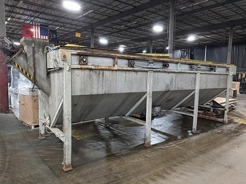 used 2000 gallon plastic float sink tank