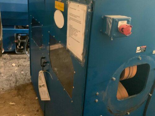 used michigan plastics machinery pipe / conair haul off