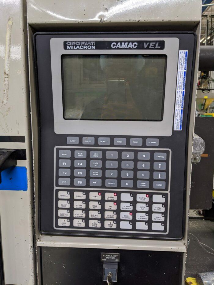 Used 110 Ton Cincinnati VT110-5 Injection Molding Machine 3 Used 110 Ton Cincinnati VT110-5