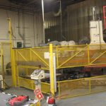 used brown r223 3-station rotary vacuum former