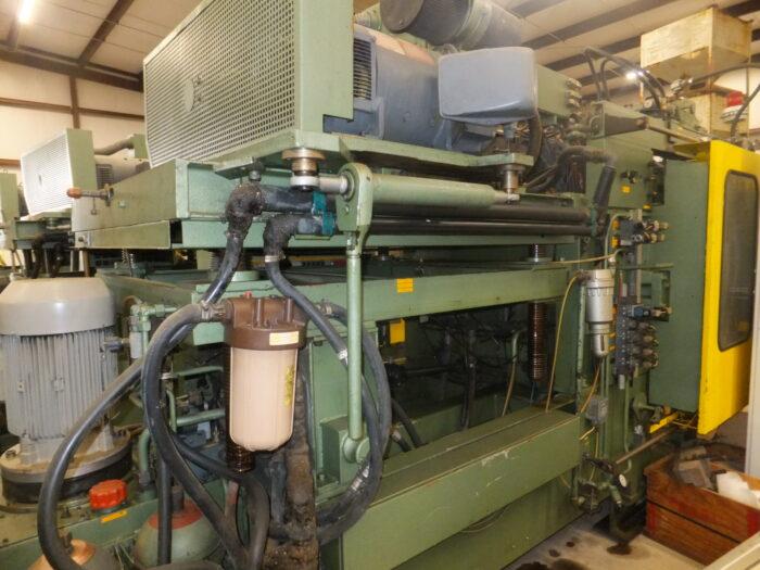 used fischer vk1-5 single forward shuttle blow molding machine