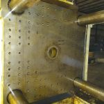 used 310 ton toshiba isf 310vl injection molding machine