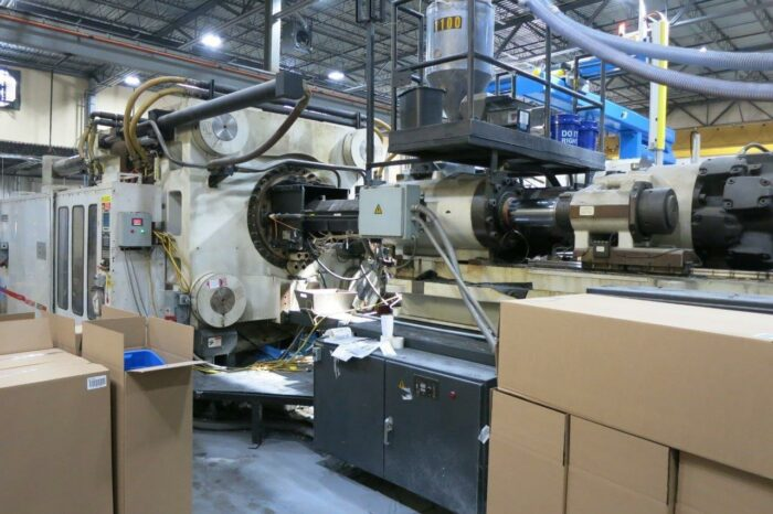 2200 Ton Cincinnati ML2200-413 Injection Molding Machine 2 2200 Ton Cincinnati