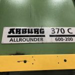 used arburg 370 c 600-200 vertical injection molding machine