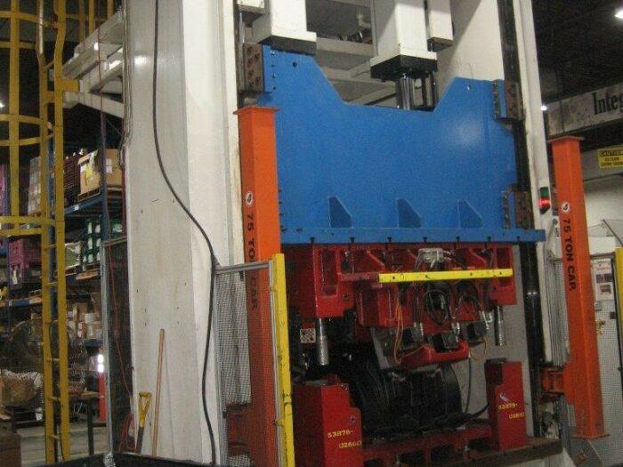used 150 ton macrodyne hydraulic trim press