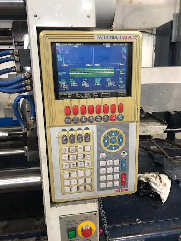 Used 300 Ton Van Dorn HT300-1220 Injection Molding Machine 1 Used 300 Ton Van Dorn HT300-1220