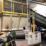 used 125 hp retech vecoplan rg52 120 single shaft shredder line