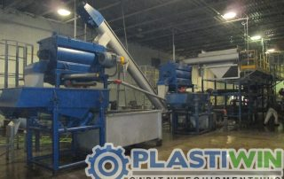 plastic bottle recycling machine wash line