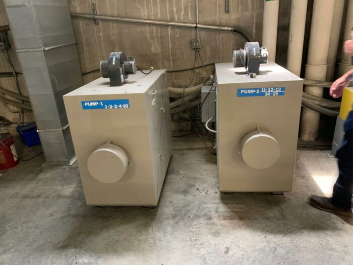 used conair central drying system