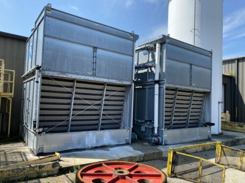 used 140 ton baltimore aircoil cooling tower