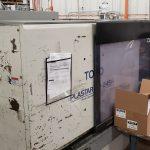 used 245 ton toyo tm-245h injection molding machine
