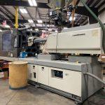 used 400 ton toyo tm-400h2 injection molding machine