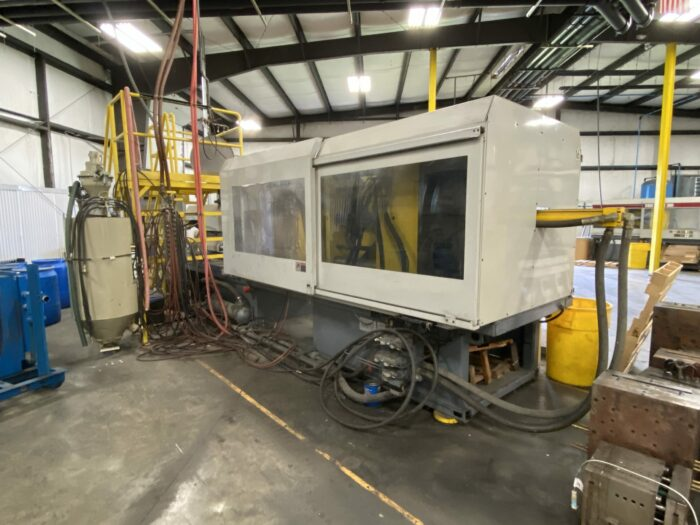 used 500 ton van dorn 500-rs-60f-ht injection molding machine