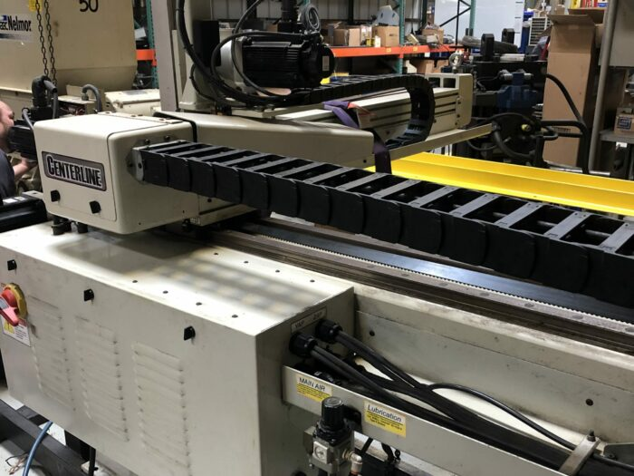 used centerline ranger az 560 3 axis robot