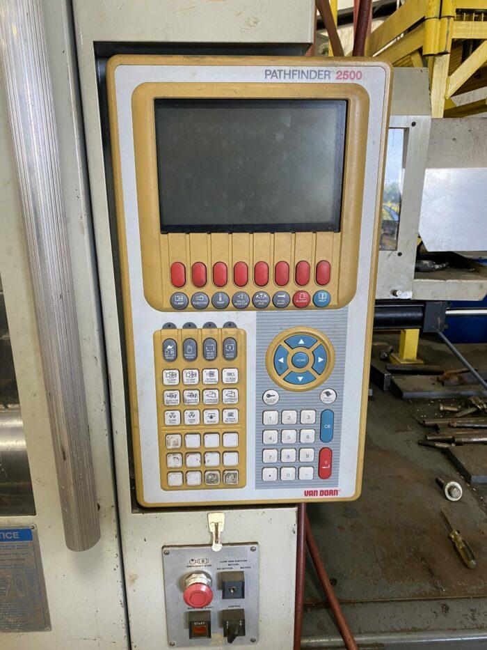 Used 500 Ton Van Dorn 500-RS-60F-HT Injection Molding Machine 2 Used 500 Ton Van Dorn