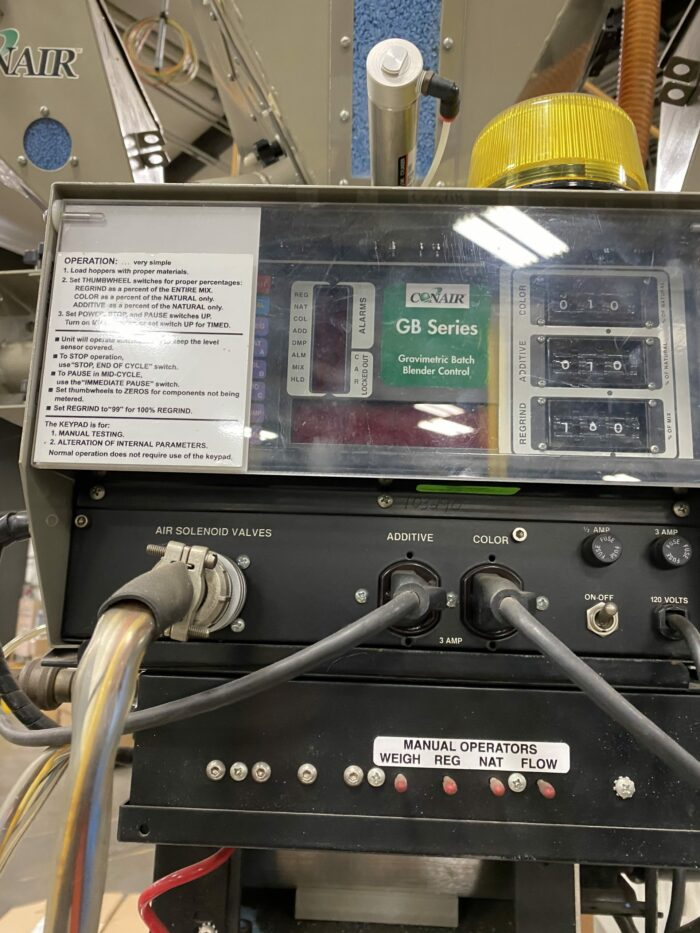 used gb200 22x conair gravimetric blender