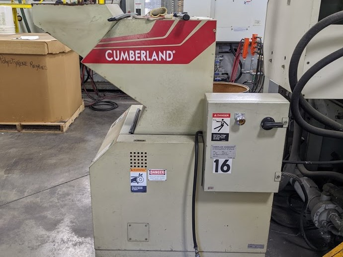 used 15 hp cumberland grinder from 2000