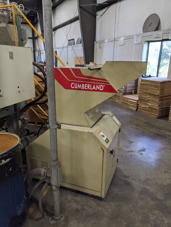 Used 15 HP Cumberland Grinder from 2000 1 Used 15 HP Cumberland Grinder
