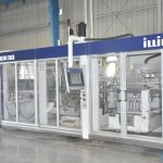 illig inline rdk80 preheat/form/trim/punch/stack thermoformer