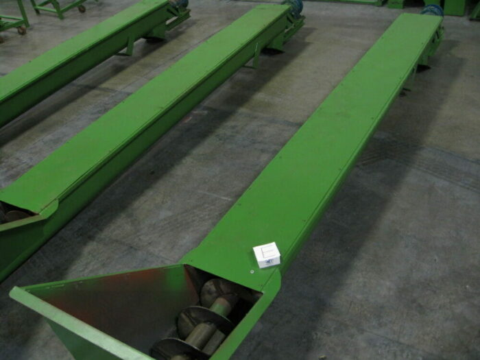used 100 hp grinder with infeed and discharge conveyors